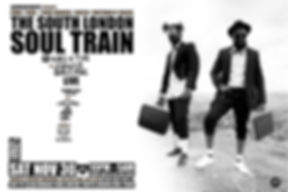 Sat Nov 30 - The South London Soul Train with KOG and The Zongo Brigade (Live) + More