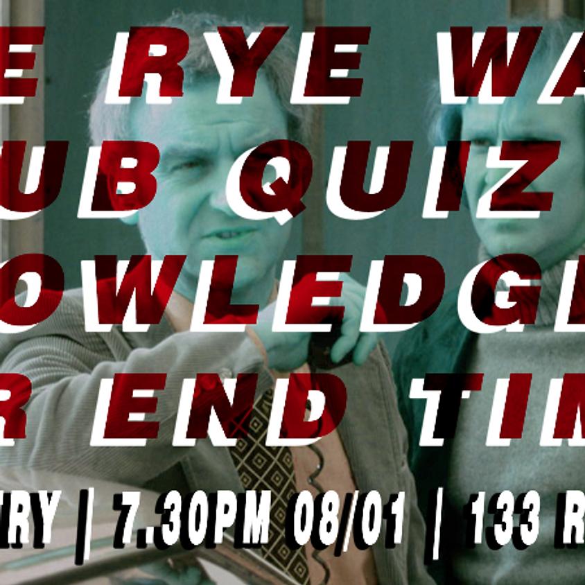 Rye Wax Pub Quiz