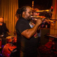 Trombone Jerome & Band Live In The Lounge.