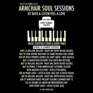 Armchair Rootop Soul Sessions - Every Sunday