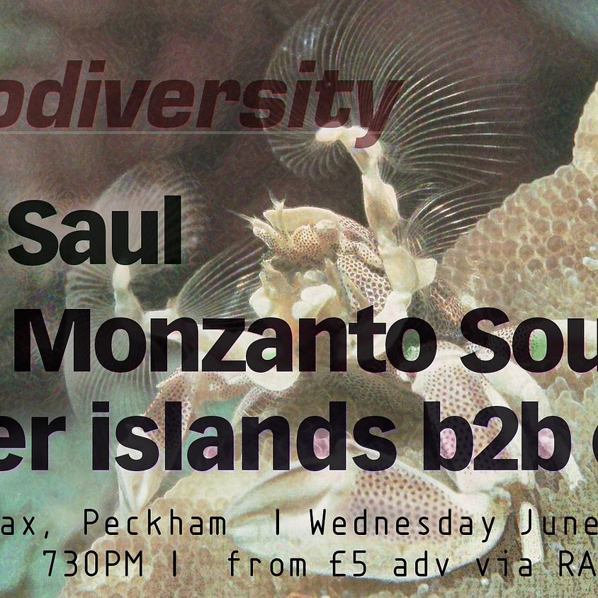 Biodiversity: Saul, Monzanto Sound, Other Islands b2b Eliel