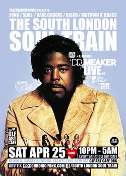 Sat Apr 25 - South London Soul Train