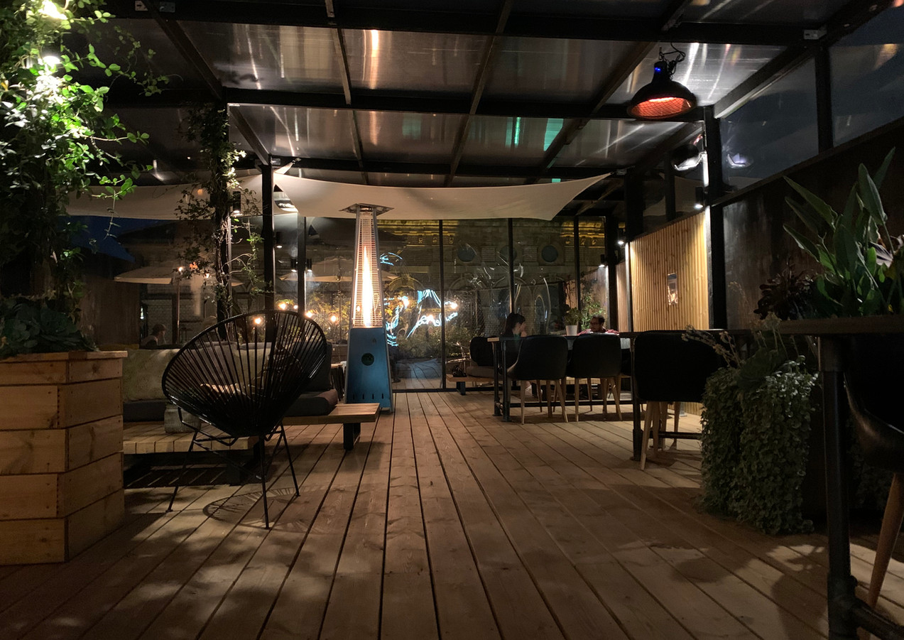 CLF Art Lounge X Hennessy Roof Garden