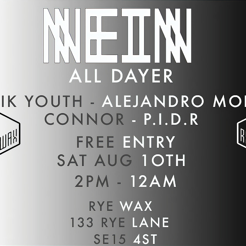 Nein Records All Dayer