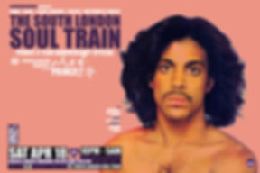 Sat Apr 18 - The South London Soul Train Prince 4 Year Special with Echoes Of Prince (Live) + More