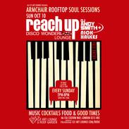 Sun Oct 10 - Reach Up Disco Wonder Lounge with DJ Andy Smith & Nick Halkes