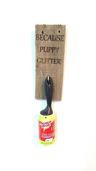 Puppy Glitter Remover
