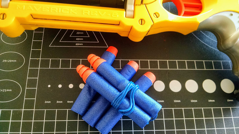 Nerf Dart Ear Plugs