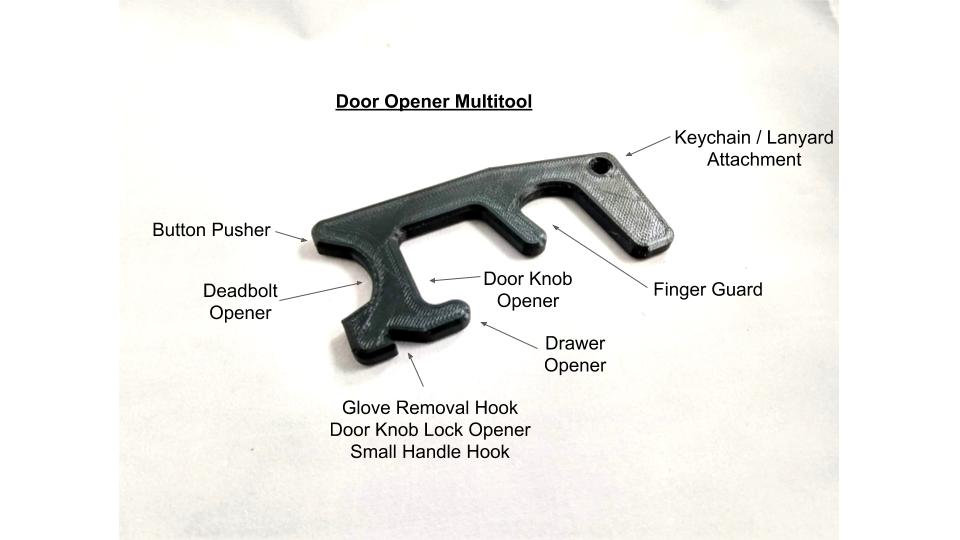 Door Opener Multitool