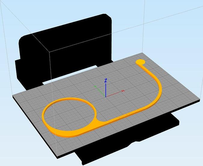 Digital File, V2.0 Replacement Subaru Gas Cap Lanyard