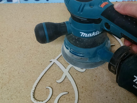 OMG, I actually used the speed control on my orbital sander today!
