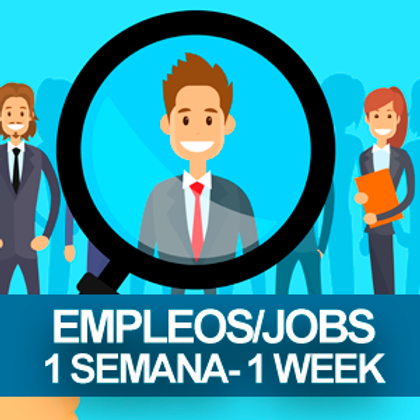 Job Posting for $25 for 1 week/ Ofrezco Trabajo por $25 x 1 Semana