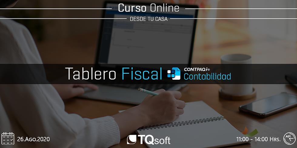 Curso Online | Tablero fiscal CONTPAQi Contabilidad