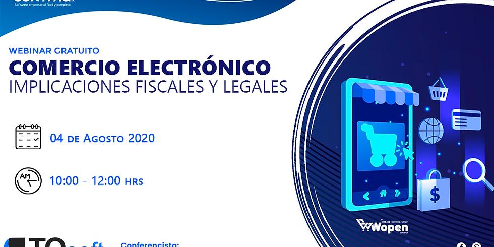 Comercio Electrónico   Implicaciones Fiscales y legales