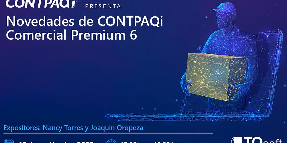Novedades de CONTPAQi Comercial Premium 6