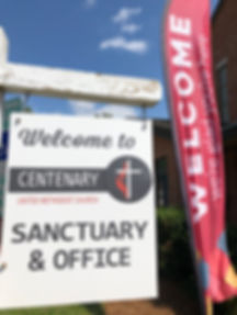 Sanctuary Office Welcome sign.jpg