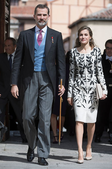 King Felipe VI, Queen Letizia. Revista Lux Moments magacine. Premios Cervantes