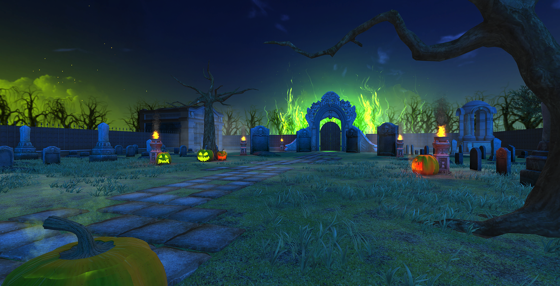 BOXVR - Halloween Stage