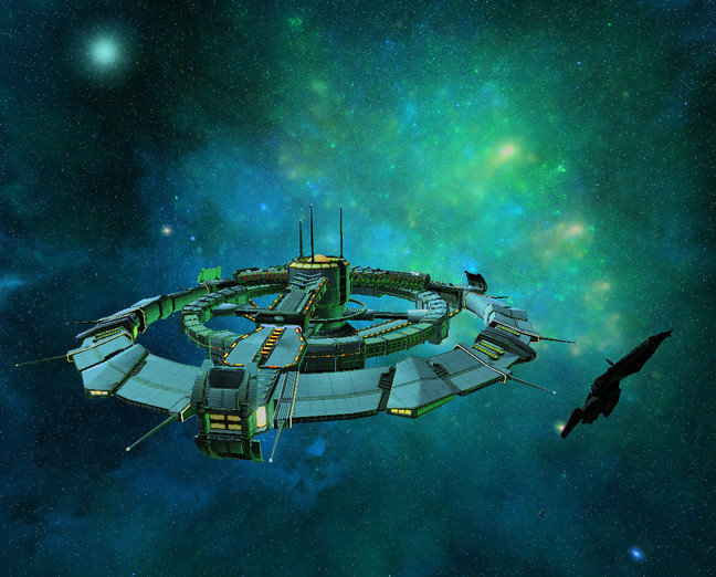 3000AD - Space Station
