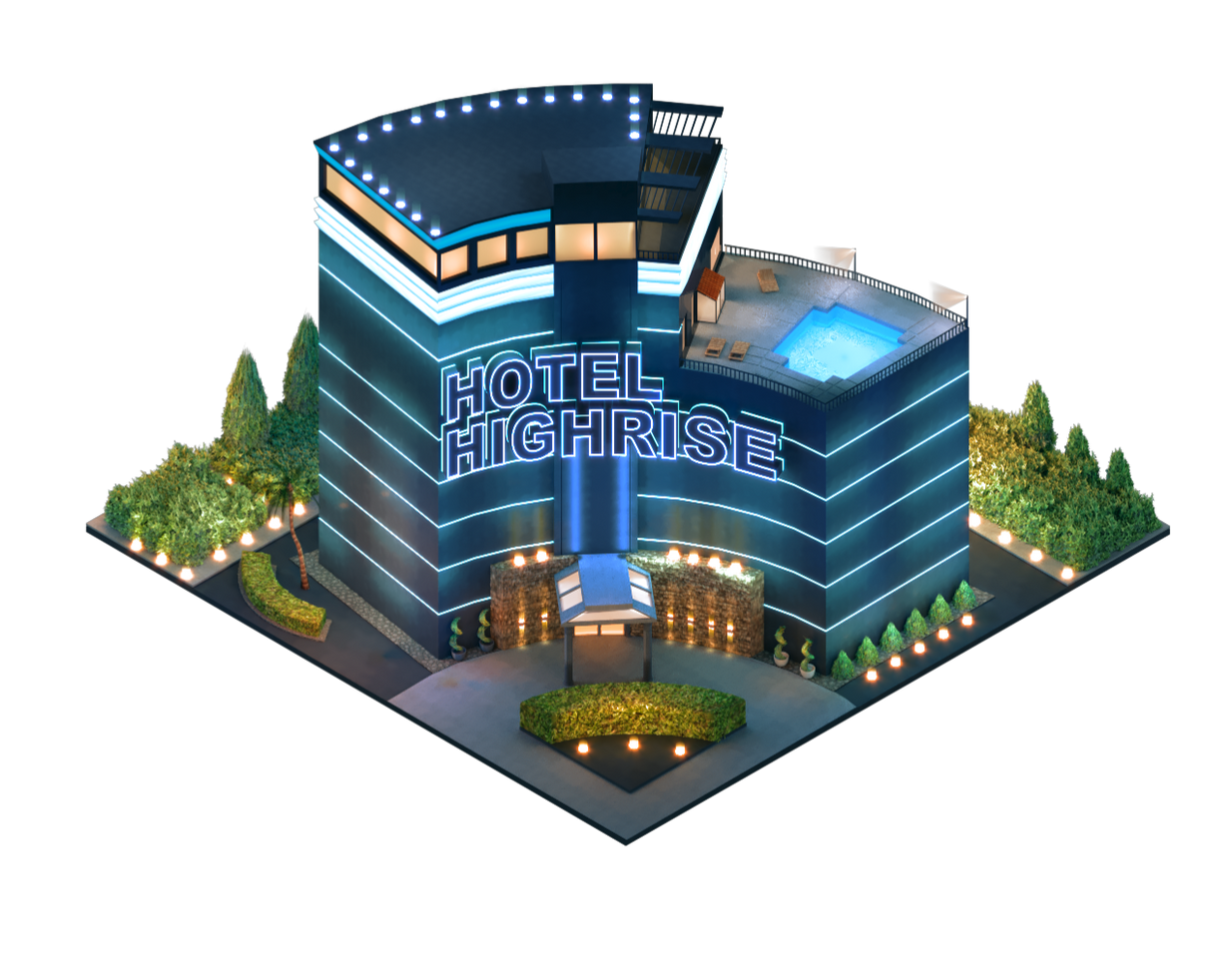 Flowplay - Highrise Hotel