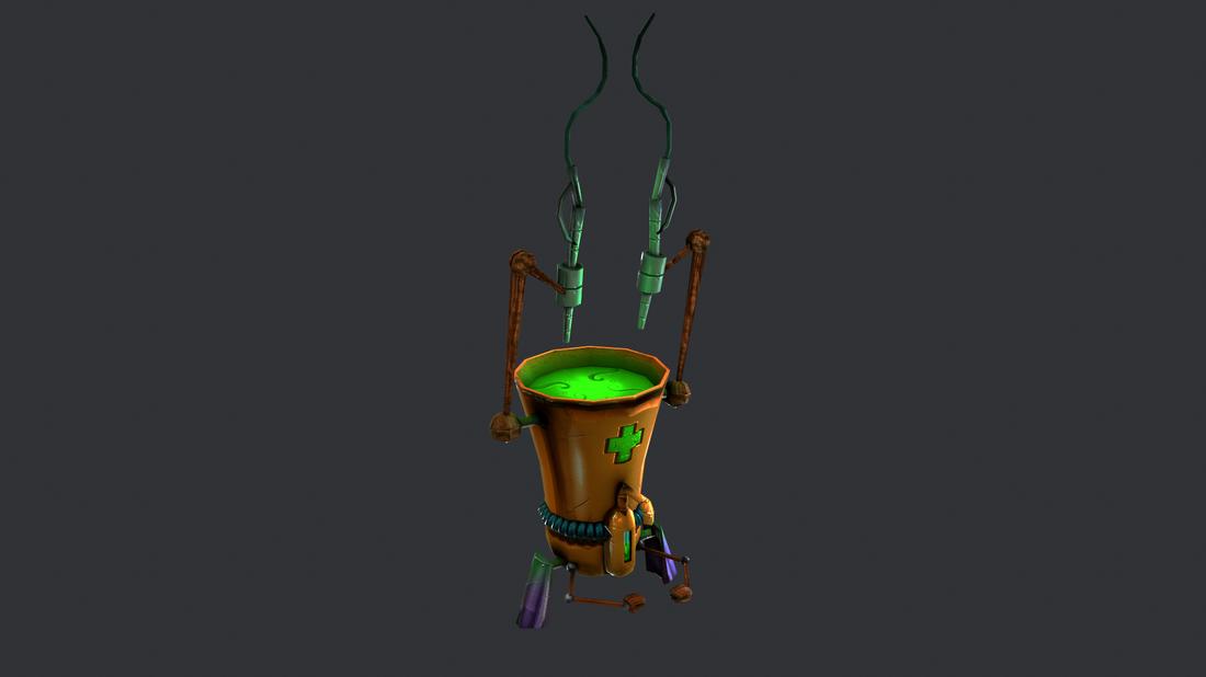 Shrek Adventures - Potion Machine