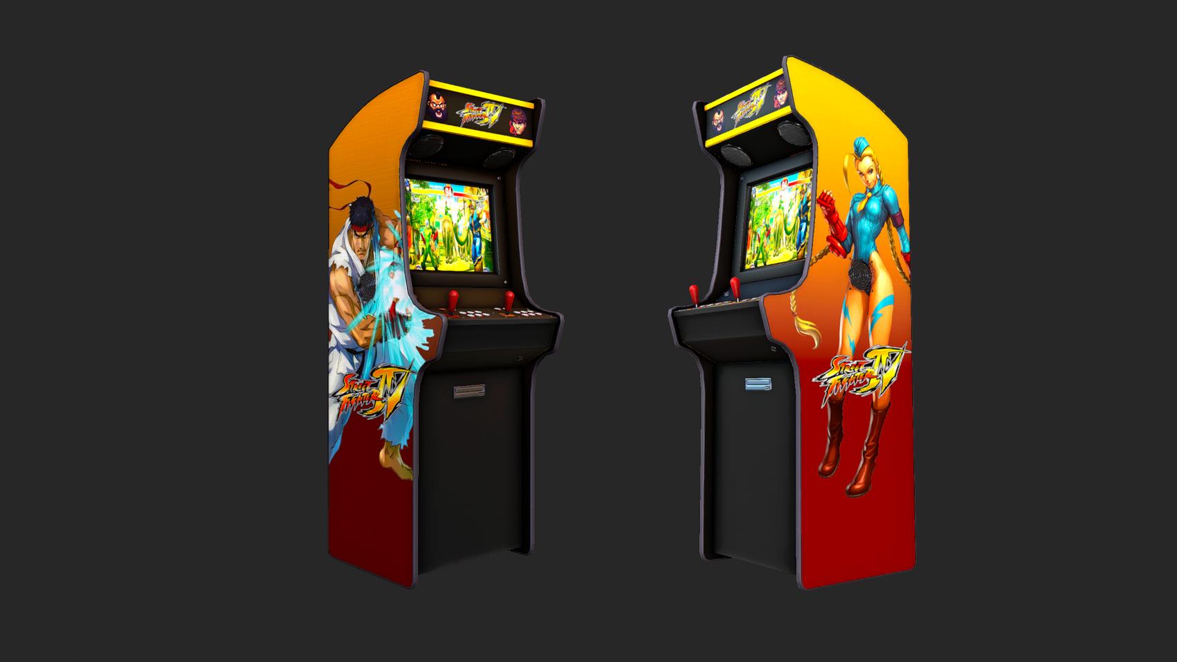 SF4 Arcade Cabinet