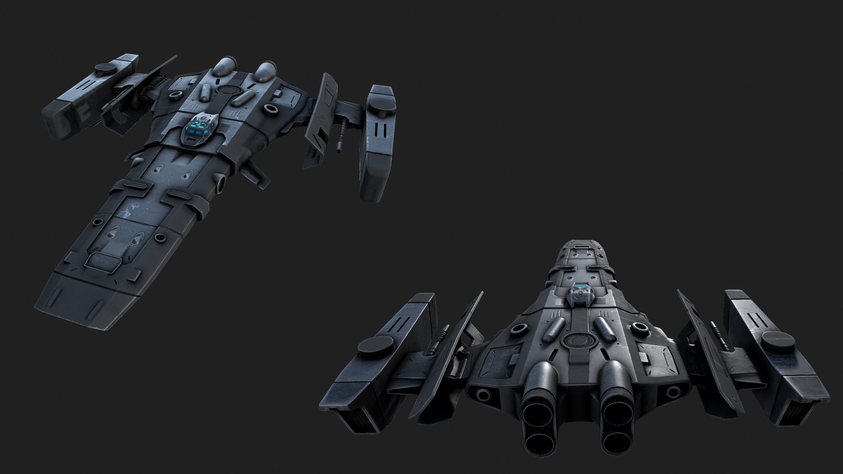 Corvette Class Starship
