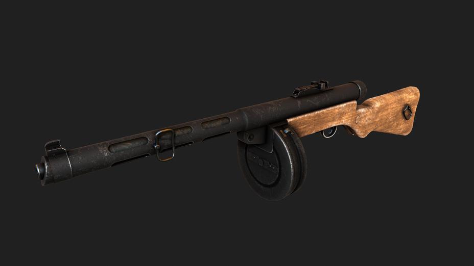 Suomi Sub Machine Gun