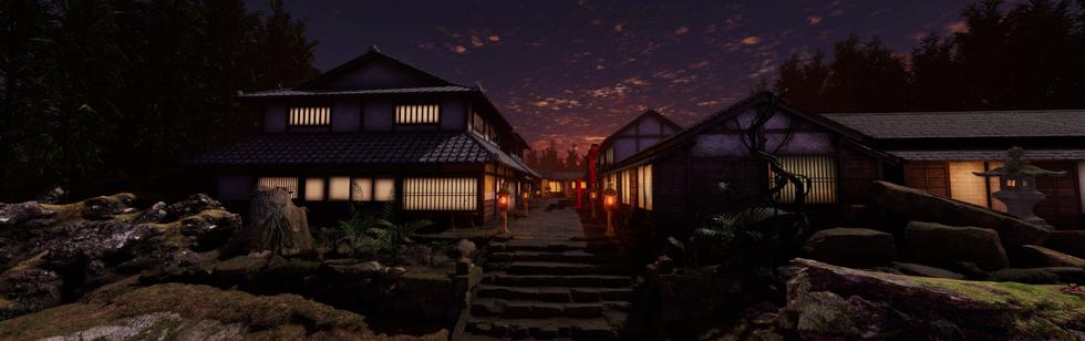 Japanese Edo Town
