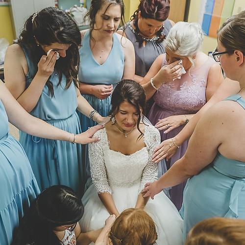 Nethaniel and Carissa Lake Hallie Wedding