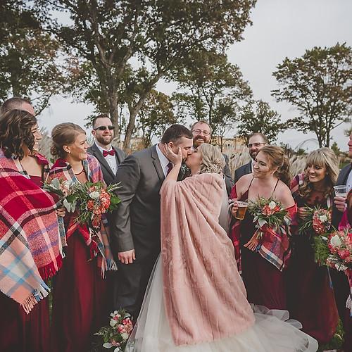 Brent & Kelsey River Prairie Wedding - Altoona Wisconsin
