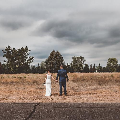 Brandon & Julie Lake Holcombe Wedding