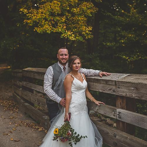 Brennan & Rachel Minnesota Wedding @ Camden State Park