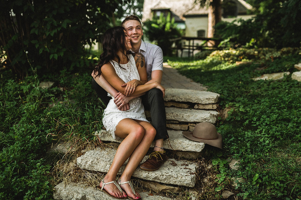 Andrew & Erin - Madison Couple Engagement Session