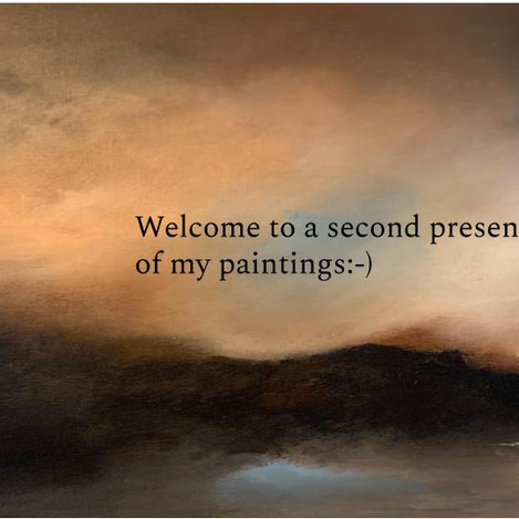 A second presentation of my paintings