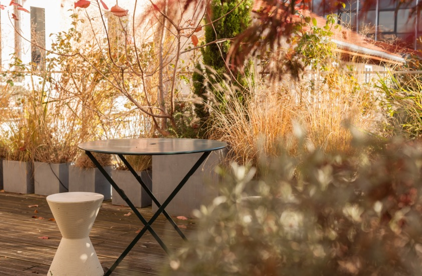 paysagiste, terrasse, paris