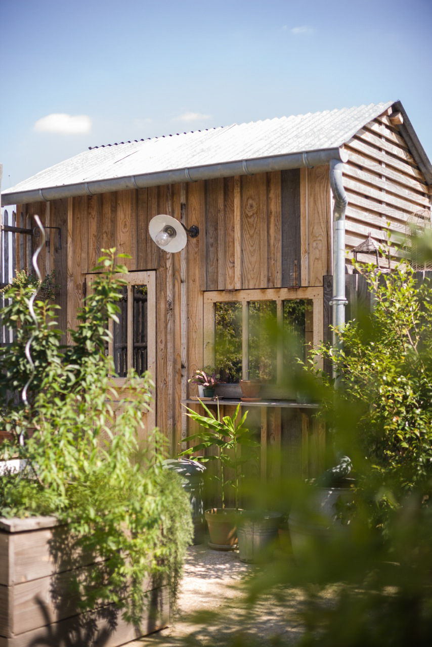 paysagiste terrasse paris cabane