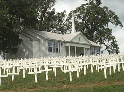 Cross Memoroial Howe Savoy Bible Church.