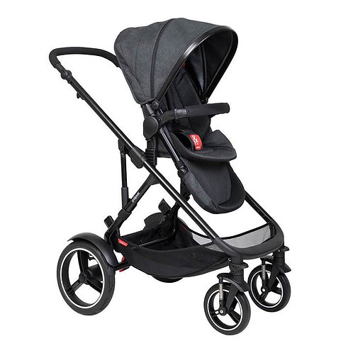 Phil & Teds Voyager Pushchair Double Black / Black