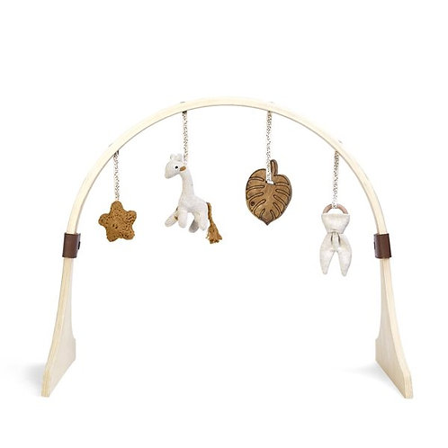 LGS Wooden Baby Play Gym & Charms Set