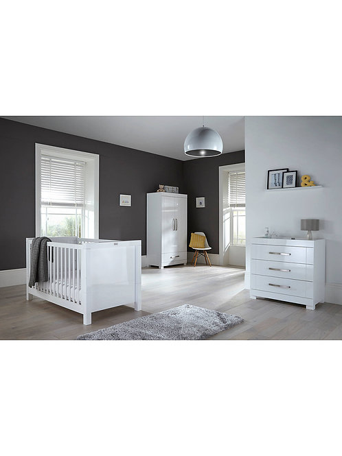 Silver Cross Notting Hill 3 Piece Nursey Furniture