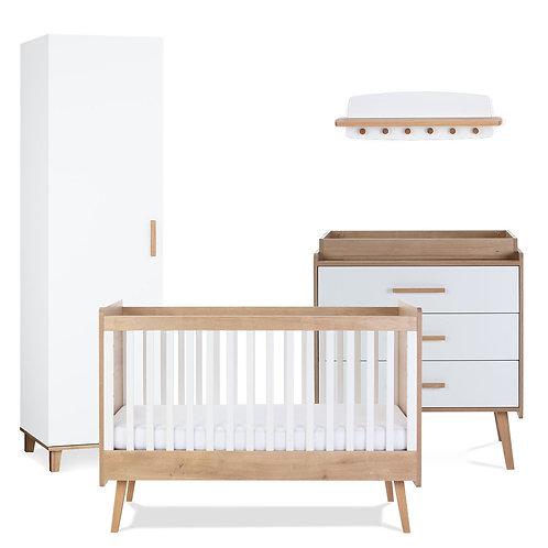 Silver Cross Westport 4 Piece Nursery Furniture Set