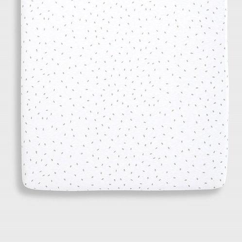 LGS Organic Crib Fitted Sheet