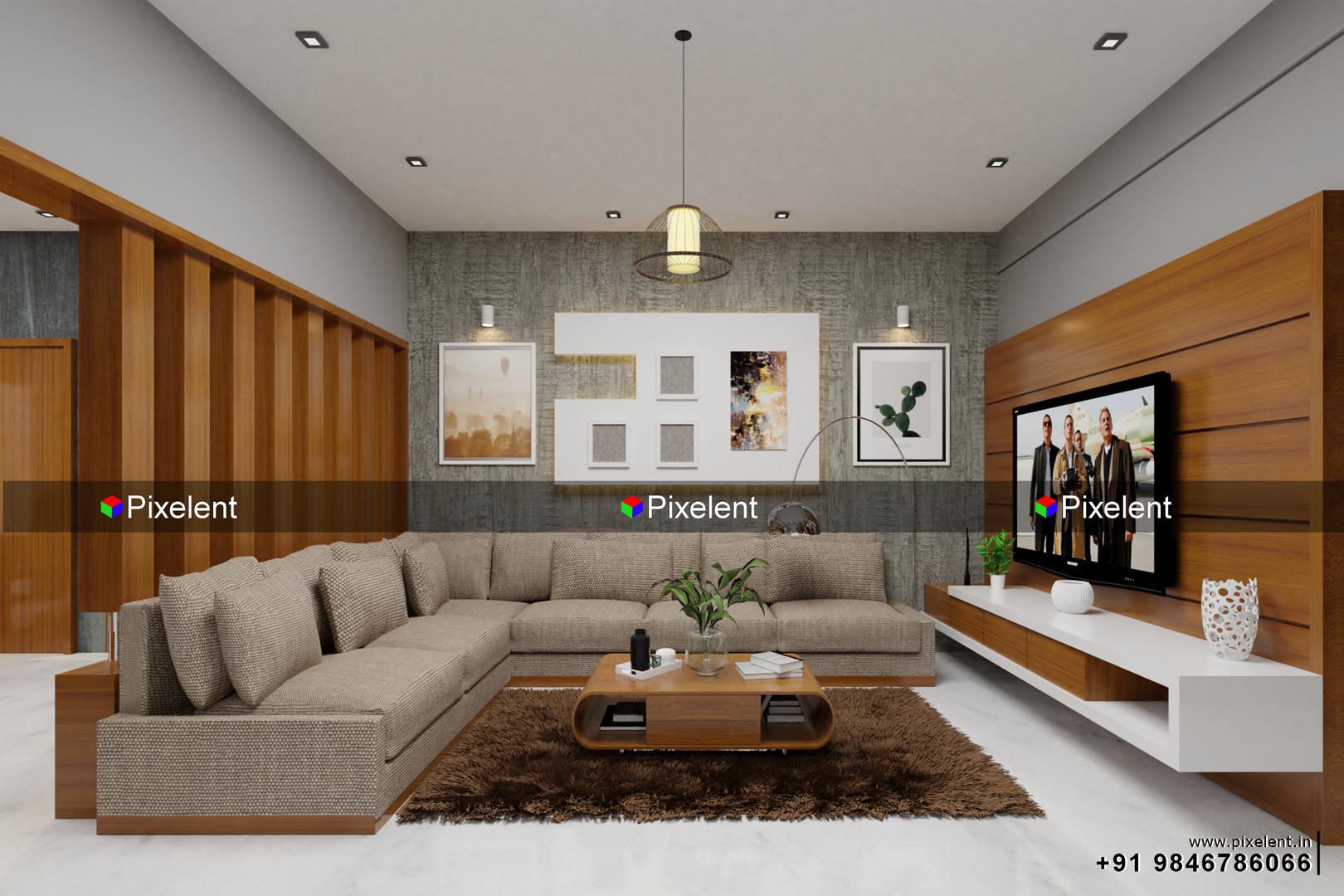 3D Interior Designs By Pixelent