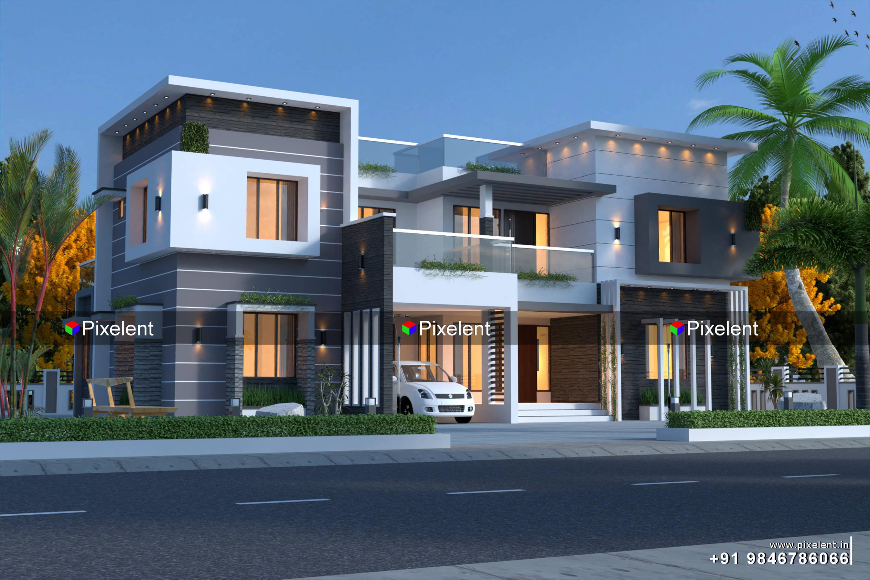 3D Exterior Designs
