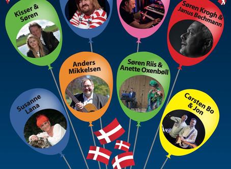 DANSANT ARRANGERER - Spil Dansk - Torsdag d. 29 oktober 2020