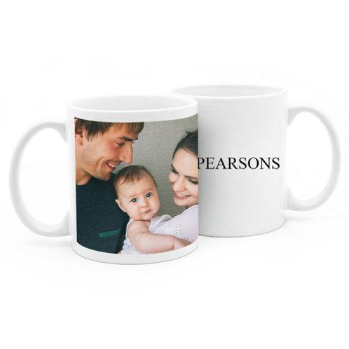 Personalized 11oz Ceramic Mug