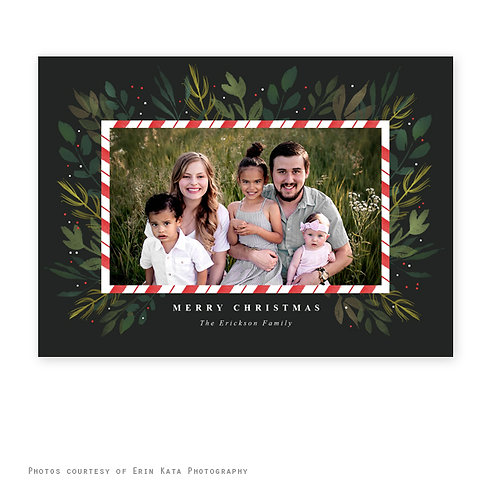 12 Personalized Printed Christmas Cards