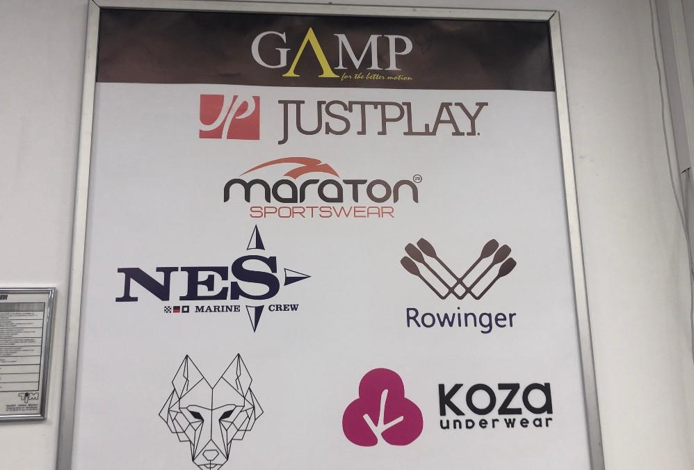 Pestra izbira blagovnih znamk v trgovini Gamp