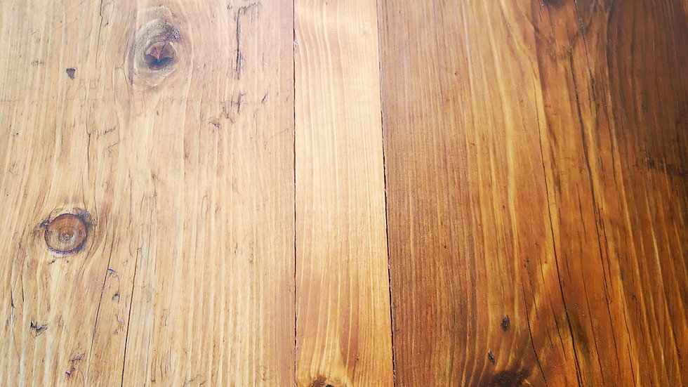ANTIQUE PINE SCAFFOLD BOARD SHELF 2M